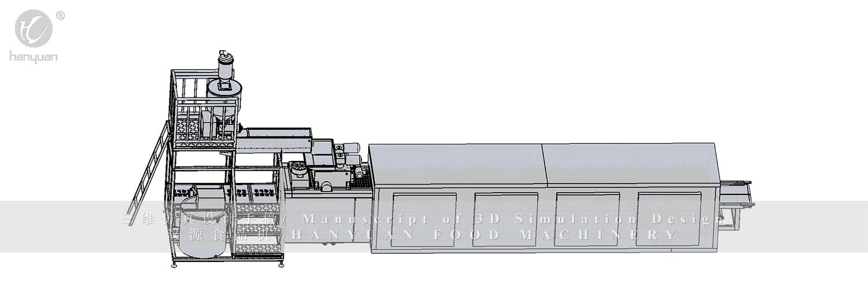HY-能量棒谷物棒设备-汉源机械
